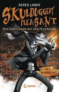 Coverfoto Skulduggery Pleasant