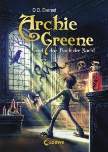 Coverfoto Archie Greene und das Buch der Nacht