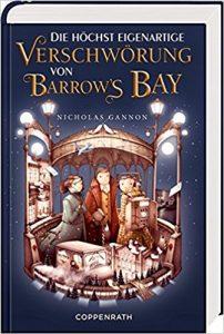 Coverfoto Die höchst eigenartige Verschwörung von Barrows Bay