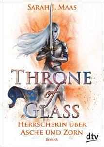 Coverfoto herrscherin über Asche und Zorn Throne of Glass 7