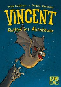 Coverfoto Vincent flattert ins Abenteuer