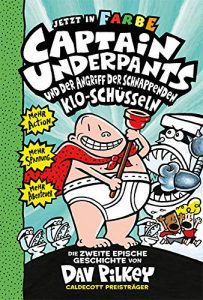 Coverfoto Captain Underpants 2