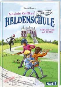 Coverfoto Fräulein Kniffkes geheime Heldenschule 1