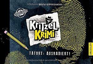 Coverfoto Kritzel krimi Tatort Ausradiert